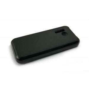 Силиконовый матовый непрозрачный чехол для Nokia 215