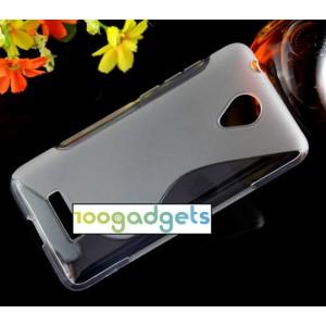 Силиконовый S чехол для Micromax Canvas Spark