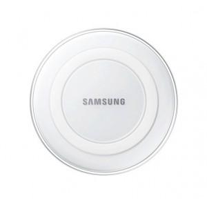 Оригинальное беспроводное qi зарядное устройство Samsung с встроенным LED-индикатором и нескользящими поверхностями Белый