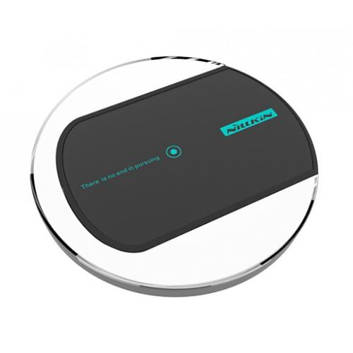 Экстратонкое 10.4 мм стеклянное беспроводное qi зарядное устройство с LED-подсветкой