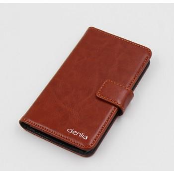 Клеевой чехол портмоне подставка с защелкой для Jolla Phone