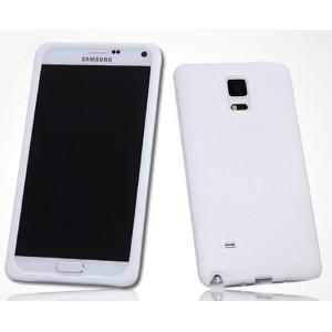 Силиконовый матовый софт-тач премиум чехол для Samsung Galaxy Note 4