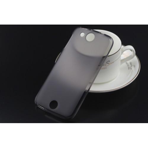 Силиконовый матовый полупрозрачный чехол для Acer Liquid Jade