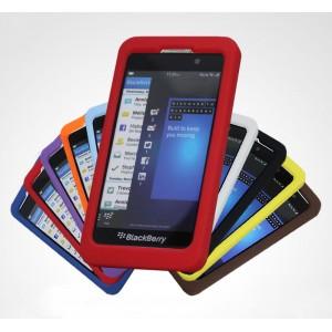 Силиконовый матовый софт-тач премиум чехол для BlackBerry Z10