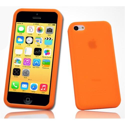 Силиконовый матовый софт-тач премиум чехол для Iphone 5c