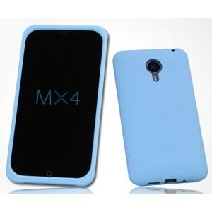 Силиконовый матовый софт-тач премиум чехол для Meizu MX4