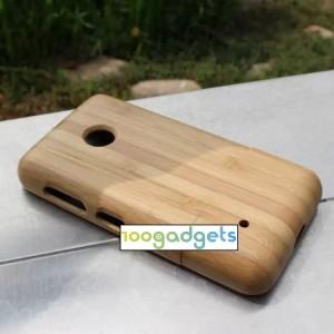 Эксклюзивный натуральный деревянный чехол сборного типа для Nokia Lumia 530
