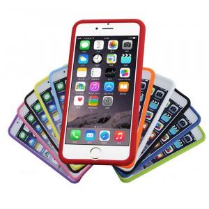 Силиконовый матовый софт-тач премиум чехол для Iphone 6 Plus