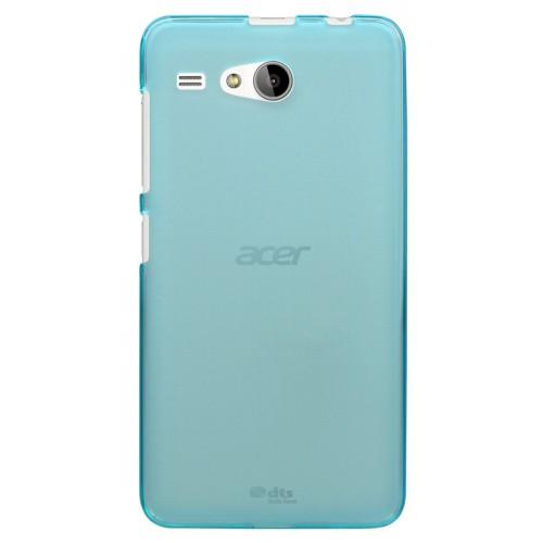 Силиконовый матовый полупрозрачный чехол для Acer Liquid Z520