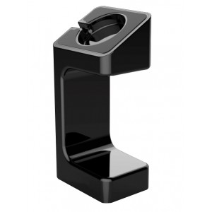 Поликарбонатная подставка для зарядки Apple Watch Series 1/2/3/4 Черный