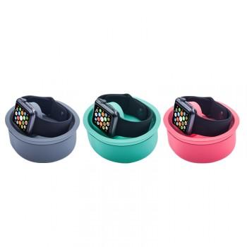 Силиконовая нескользящая подставка для зарядки Apple Watch