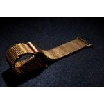 Сетчатый крупнозернистый браслет из нержавеющей гипоаллергенной стали для Apple Watch 38мм