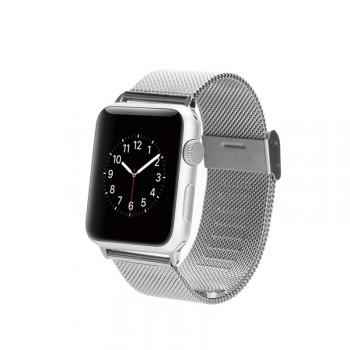 Сетчатый мелкозернистый браслет из нержавеющей гипоаллергенной стали для Apple Watch 42мм