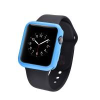 Силиконовый непрозрачный чехол для Apple Watch 38мм