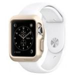 Силиконовый ударостойкий чехол с дополнительной защитой Digital Crown и задней поверхности для Apple Watch 42мм
