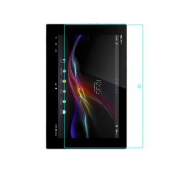 Ультратонкое износоустойчивое сколостойкое олеофобное защитное стекло-пленка для Sony Xperia Z4 Tablet