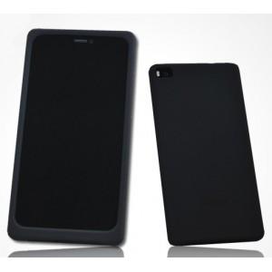 Силиконовый матовый софт-тач премиум чехол для Huawei P8