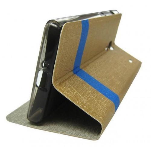 Текстурный чехол флип подставка для Lenovo A328