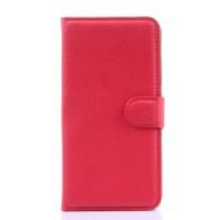 Чехол портмоне подставка с защелкой для Lenovo S90 Красный