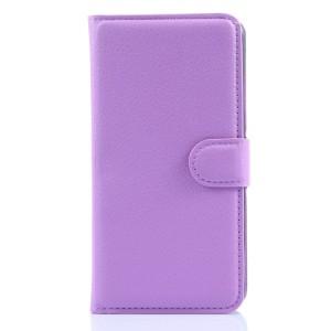 Чехол портмоне подставка с защелкой для Lenovo S90 Фиолетовый