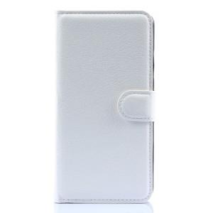 Чехол портмоне подставка с защелкой для Lenovo S90 Белый