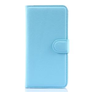 Чехол портмоне подставка с защелкой для Lenovo S90 Голубой