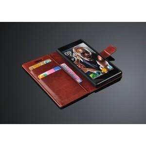 Чехол портмоне подставка с защелкой для Lenovo P70