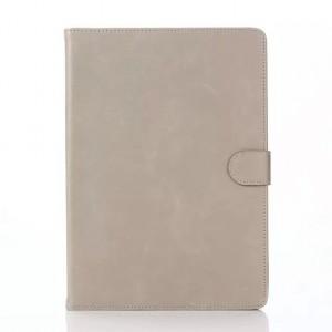 Винтажный чехол подставка с внутренними отсеками и защелкой для Samsung Galaxy Tab A 9.7 Белый