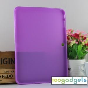 Силиконовый матовый чехол для Samsung Galaxy Tab 4 10.1 Фиолетовый
