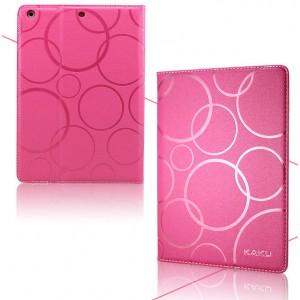 Чехол подставка текстурный для Samsung Galaxy Tab 4 10.1 Пурпурный