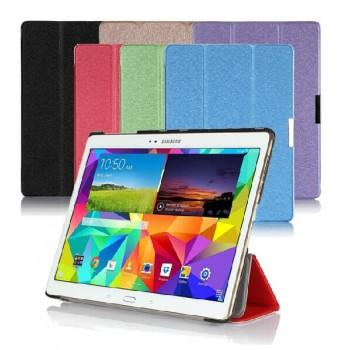 Текстурный чехол флип подставка сегментарный для Samsung Galaxy Tab S 10.5