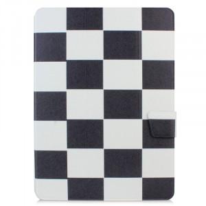 Текстурный чехол флип подставка сегментарный с магнитной защелкой для Samsung Galaxy Tab S 10.5