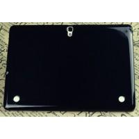 Силиконовый матовый полупрозрачный чехол для Samsung Galaxy Tab S 10.5 Черный