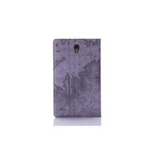 Текстурный чехол подставка с внутренними отсеками для Samsung Galaxy Tab S 8.4