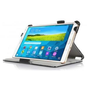 Кожаный чехол подставка с внутренними отсеками для Samsung Galaxy Tab S 8.4
