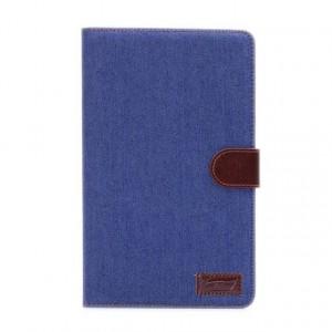 Чехол подставка с внутренними отсеками для Samsung Galaxy Tab S 8.4 Синий