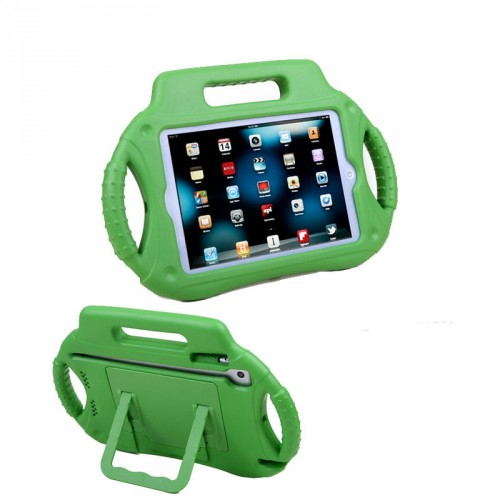 Антиударный силиконовый детский чехол с ножкой-подставкой и ручками для Ipad Mini 1/2/3
