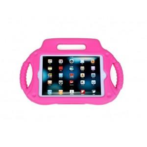 Антиударный силиконовый детский чехол с ножкой-подставкой и ручками для Ipad Mini 1/2/3 Пурпурный