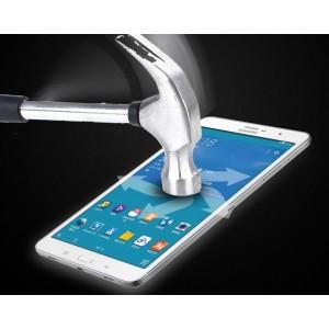 Ультратонкое износоустойчивое сколостойкое олеофобное защитное стекло-пленка для Samsung Galaxy Tab 3 Lite