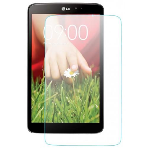 Ультратонкое износоустойчивое сколостойкое олеофобное защитное стекло-пленка для  LG G Pad 7.0