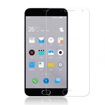 Ультратонкое износоустойчивое сколостойкое олеофобное защитное стекло-пленка для Meizu M2 Mini