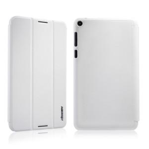Чехол флип подставка сегментарный для Asus FonePad 8 Белый