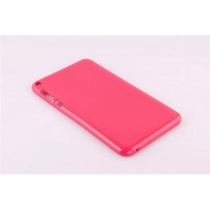 Силиконовый непрозрачный чехол для Asus FonePad 8 Пурпурный
