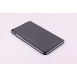 Силиконовый непрозрачный чехол для Asus FonePad 8 Черный