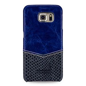 Эксклюзивный кожаный чехол накладка (2 вида кожи) для Samsung Galaxy S6