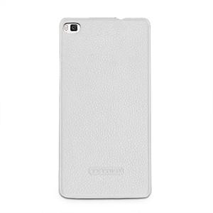 Кожаный чехол накладка (нат. кожа) для Huawei P8
