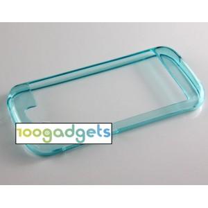 Силиконовый чехол/бампер для Yotaphone 2 Голубой