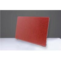 Чехол подставка на поликарбонатной основе с вощеным покрытием для Lenovo Yoga Tablet Коричневый