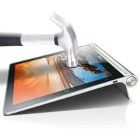 Ультратонкое износоустойчивое сколостойкое олеофобное защитное стекло-пленка для Lenovo Yoga Tablet 10