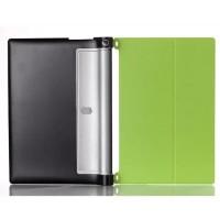 Кожаный чехол подставка для Lenovo Yoga Tablet 2 8 Зеленый